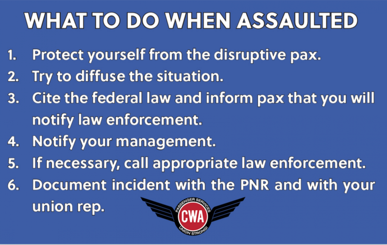 What to Do When Assaulted