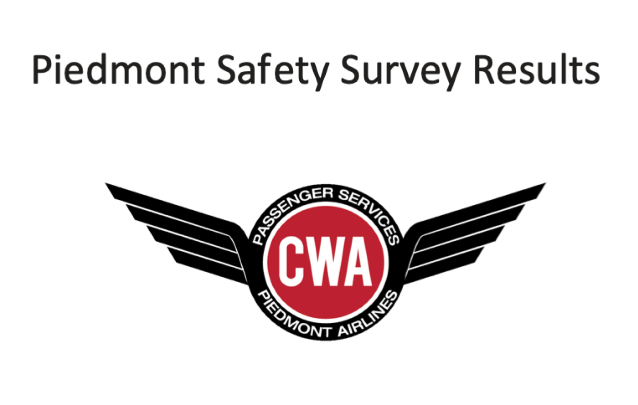 Piedmont Safety Survey Results