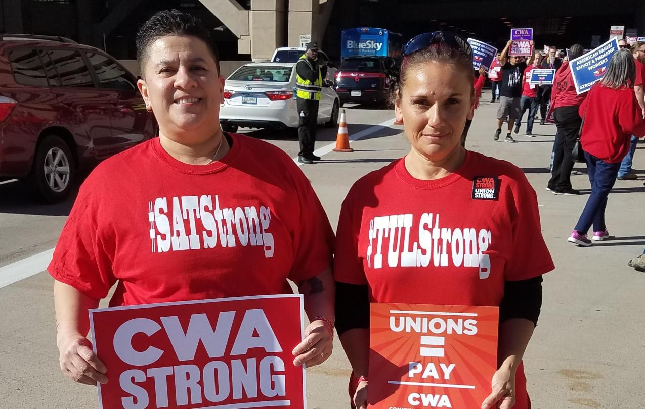 TUL workers in PHX